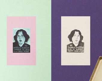 Oscar Wilde Stamp