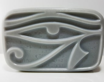 The Eye of Ra / Mens Shave & Body Bar / Cologne scented / Phthalate Free / Gluten Free / Organic oils / Egyptian Musk