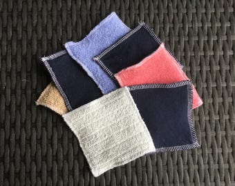 Pads to remove make-up