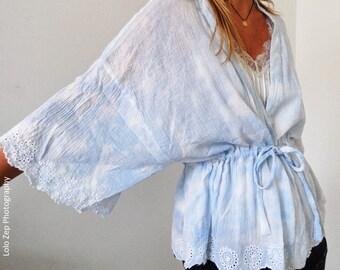 Kimono Tie and Dye