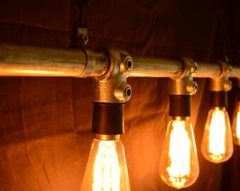 Industrial Hanging Pipe Light