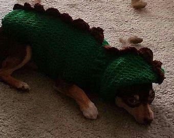 Dino Doggy Coat