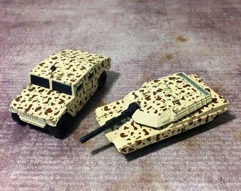 Matchbox Jeep and Tank Childrens' Toys, Memorabilia