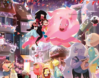 Poster Steven Universe Cookie Cat Parade