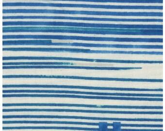SALE 20% OFF -- Saaa Saaa Rondo in Blue - nani IRO double gauze fabric