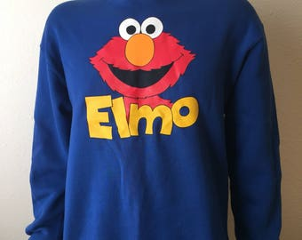 Vintage Seasame Street Elmo Sweater