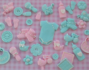 Baby Shower Cake Topper Decoration