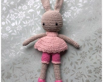 Crochet Bunny, Angie Bunny, Dress up, CrochetObject