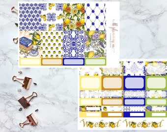 Oranges and Lemons: Weekly Planner Sticker Kit