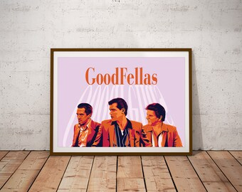 GoodFellas illustrated Print