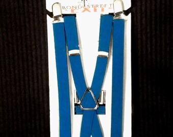 "1/2"" Blue Suspenders"