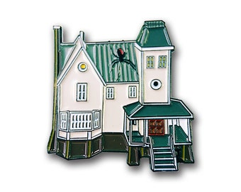 Beetlejuice House Pin