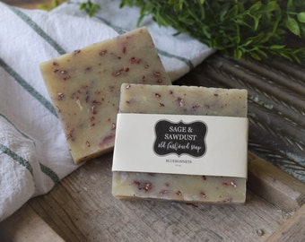 TEXAS BLUEBONNETS - Old Fashioned Soap - 4.5 oz.