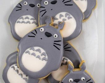 Totoro Cookies 1 Dozen (12)