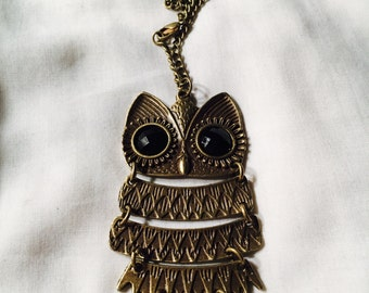 The Owl Necklace from Callini