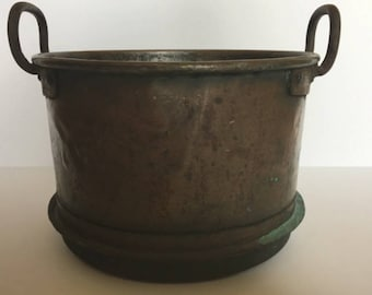 Free Shipping - Vintage Copper Pot