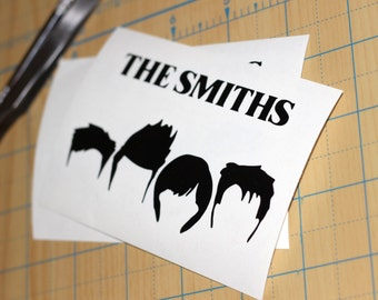 The Smiths Hair Silhouette Sticker