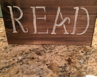 Read sign (teacher gift)