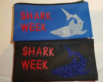 Funny hygiene bag, Shark Week