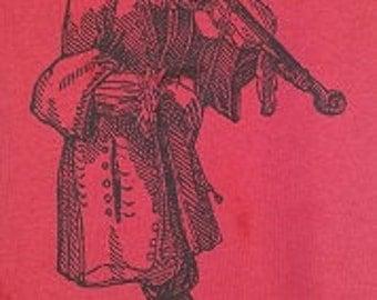 Fiddler - T shirt