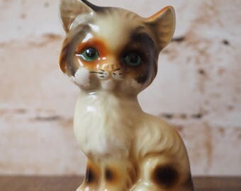 Kitsch Ginger Cat Ornament