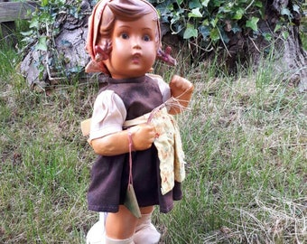 Vintage M J Hummel Ganse Liesl Doll 1700
