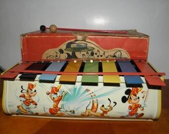 Walt Disney Character Toy Xylophone