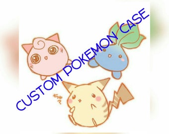 Silicone Pokemon decoden case