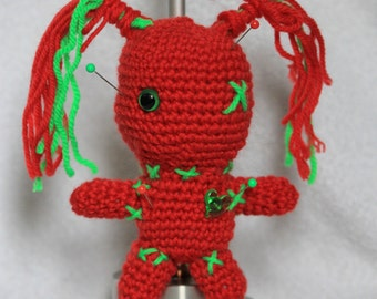 Voodoo doll - Red