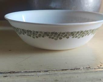 Vintage Corelle Crazy Daisy Serving Bowl 8.5 Inches