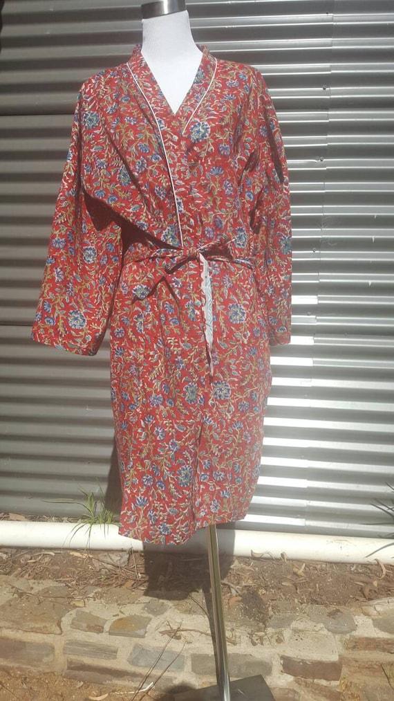 Plus Size Long Kimono