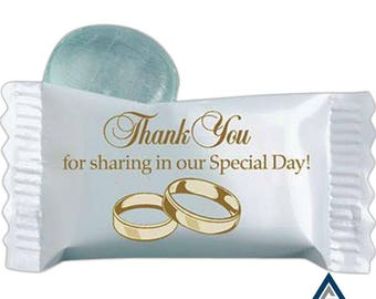 Stock Wedding Individually wrapped candy