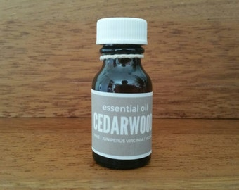 CEDARWOOD Natural Essential Oil 20mL // Cosmetic and Aromatherapy