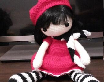 Gorjuss doll (crochet doll)