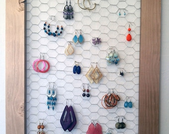 Hanging Earring Rack