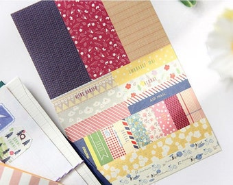 Planner Diary Deco Sticker Pack 8 Sheets - Petit Deco Planner Sticker 8 Sheets VER3