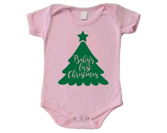 Baby's First Christmas Cut File for Cricut or Silhouette svg, dxf, jpg, pdf Vinyl Decal, Santa, My 1st Christmas, Baby's 1st Christmas