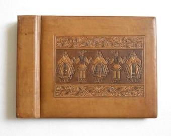 "Handmade Luxury Leather Album Storage Gramophone Records. Vintage Record 10"" Storage Album Book Holder. Record Storage Album Book Organizer"