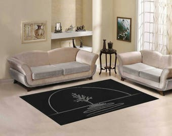 Area Rug 7' x 5' +3 other sizes -MHS Logo- FREE Shipping