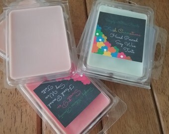 Soy Tart / Soy Melts/ Candle melts / Candle Tarts / Hand poured