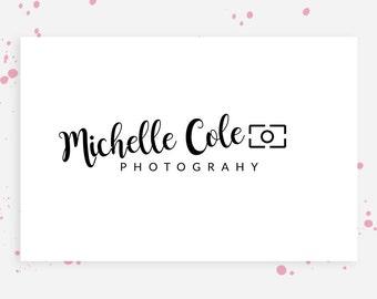 Camera Logo and Watermark, Camera logo design, Photography logo instant download, Brand identity,  Logos for photographers, DIY Logo, 053