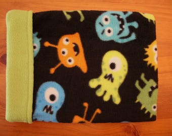 Snuggle Sack - Cuddle Sack - Pet Pouch - Fleece Bed - Small Animal Snuggle Sack - Snuggle Bed