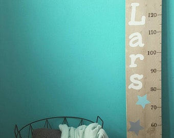 Growth chart baby shower gift