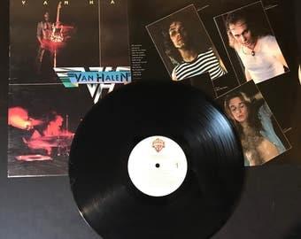 Van Halen Self Titled First pressing vinyl phonograph record Warner Bros. Records BSK3075 VG+ condition