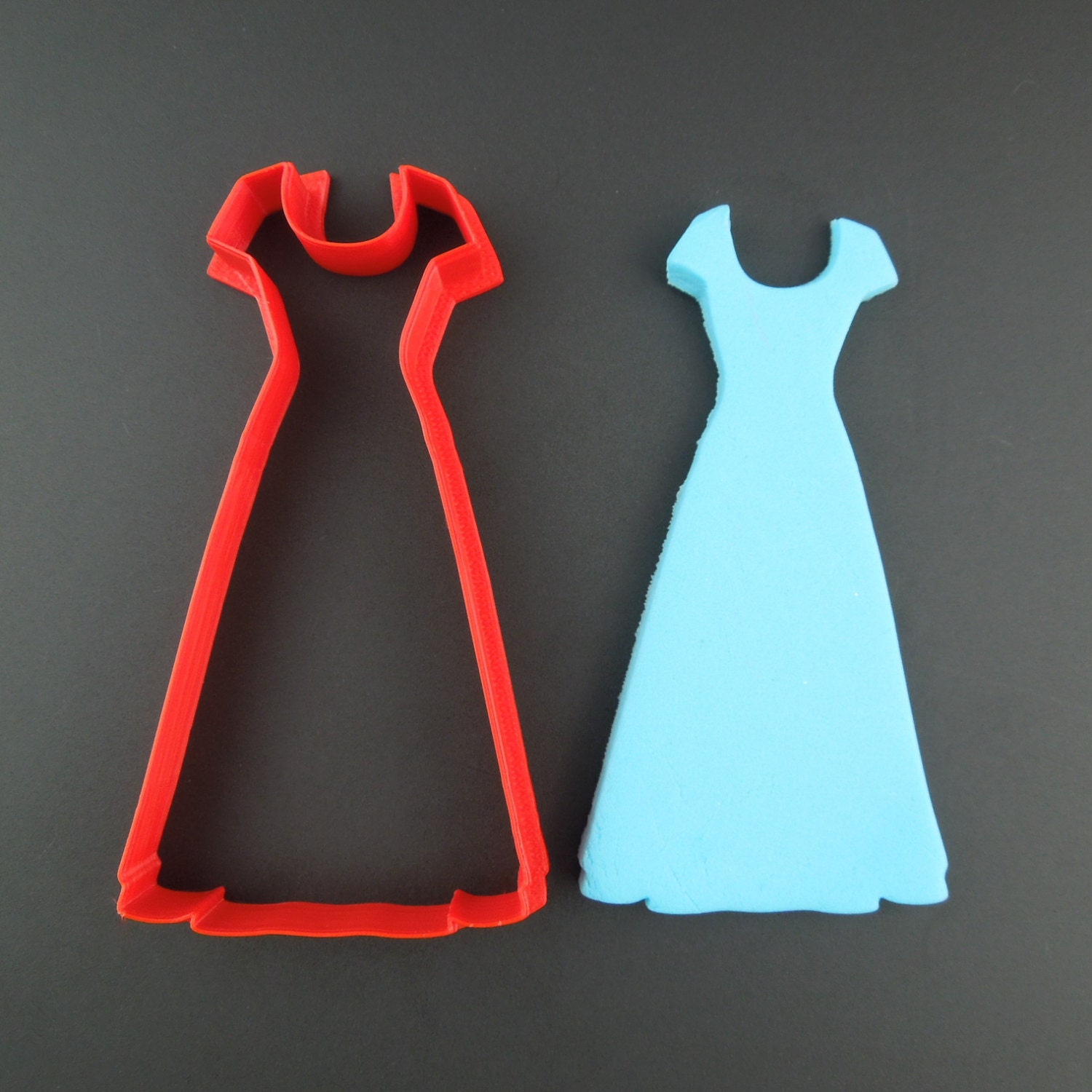 wedding dress cookie cutter 3d printed wedding dress cookie cutter Sold by TheRedCollar