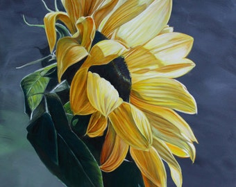 Sunflower Giclee print
