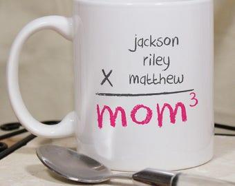Personalized Mom Mug Custom Name Gift