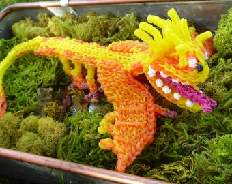 Rainbow Loom Fireworm Queen from How To Train Your Dragon