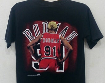 Rare vintage Dennis Rodman T-shirt M size