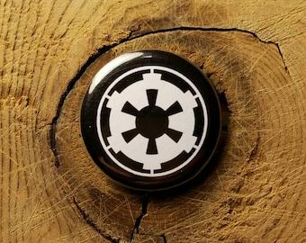 """Galactic Empire (1-1/4"""" Pinback Button)"""